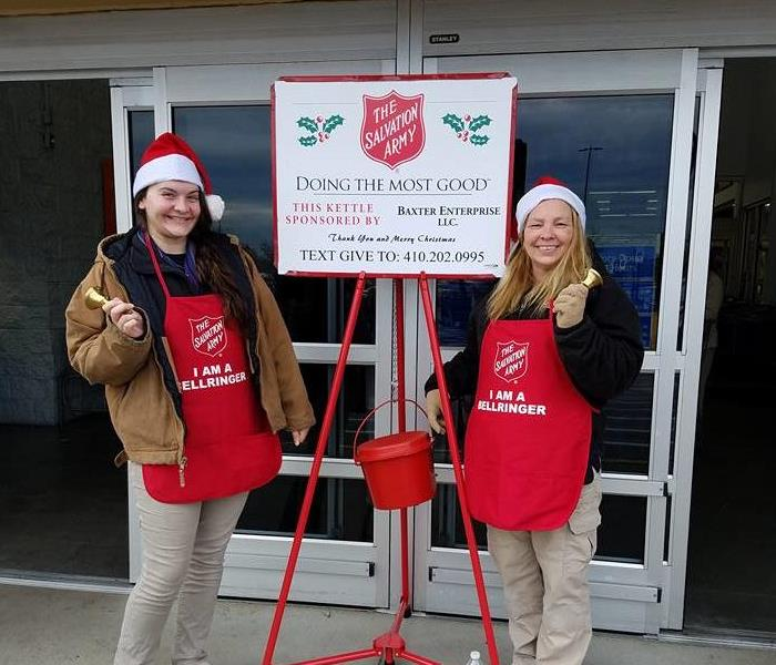 Salvation Army Red Kettle 2016