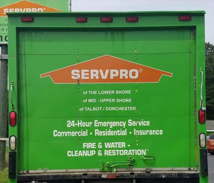 SERVPRO of the Lower Shore Responds 24/7