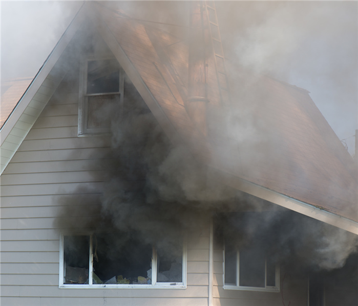 House fires can affect every room of your house with soot.