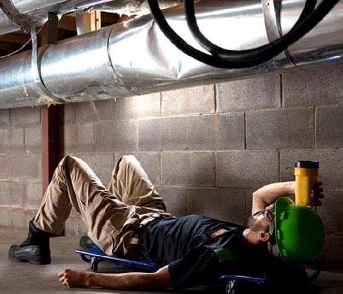 Cleaning Dirty Ducts? Call SERVPRO of the Lower Shore today!